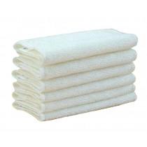 Set of 10 White Clean Dishcloths Kitchen Dish Cloths / Anti-oil Rags