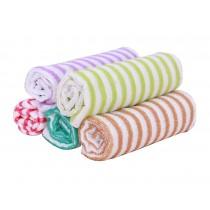 Set of 5 Colorful Elegant Dishcloths Cleaning Cloths,Absorbent /Oil Resistant