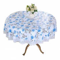 Comfortable Round Table Cloth/Flower Pattern Table Cloth/Table Covers