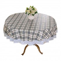 Elegant Table Covers/High Temperature Resistant Round Table Cloth