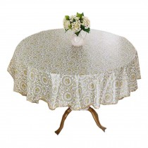 Elegant Round Table Cloth,Waterproof Table Cloth,Colorful Table Covers