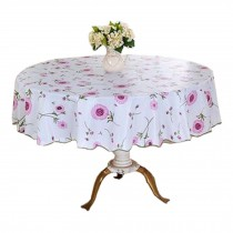 High Temperature Resistant Round Table Cloth,Elegant Table Covers