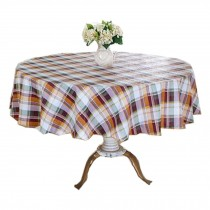 Oil-proof Tablecloth/Flower Pattern Round Table Cloth/Waterproof Table Cloth
