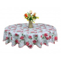 High-quality Elegant Beautiful Round Tablecloth Water And Oil Resistant