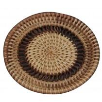 High Quality Round Bamboo Coffee Coasters Handicraft Tea Set