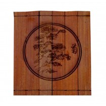 Lovely Bamboo Coasters Saucer Coffee Coasters Natural Tea Set