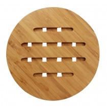 Set of 2 Lovely Practical Bamboo Coasters Tablemat Placemats