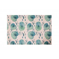 Environmentally Friendly National Wind Tea Mat/Placemat, Lotus Leaf