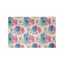Environmentally Friendly Cotton And Linen Placemat, Lotus On The Lotus