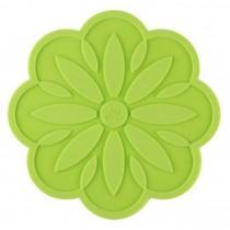 Set of 4 Creative Green Insulation Pads Place Mats Insulation Mats Silicone Mats