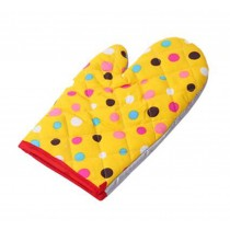 Anti-hot Baking Gloves/Lovely Insulation Gloves/Oven Mitt/Yellow