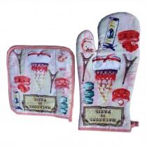 Lovely Insulation Gloves/Insulation Pads/Oven Mitt/Anti-hot Baking Gloves