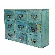 Lovely Mini Natural Wood Storage Chests Storage Basket Receive Container