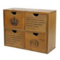 Creative Simulation Furniture Wood Storage Chests Cabinets Children Toys