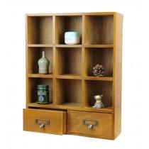 Small Wood Storage Chests Mini Storage Box Desktop Ornaments Wood Color