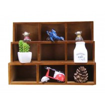 Classical Elegant Wood Storage Rack Storage Chests Home Decorations