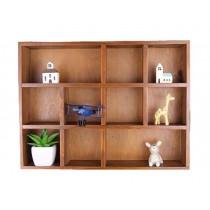 Elegant Creative Natural Wood Storage Rack Wooden Cabinet Storage Chest
