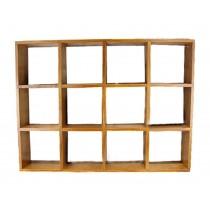 Elagant Creative Wood Storage Shelves Wall Hanging Storage Rack
