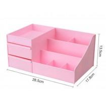 Lovely Pink Desktop Storage Boxes/ Multipurpose Storage Carbinet