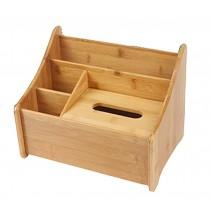 High-grade Handicraft Desktop Storage Box Receive Container,Natural Color