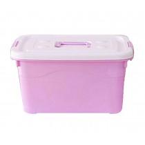 Lovely Large Capacity Household Storage Box/ Girls Storage Bins, Pink