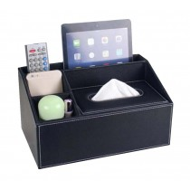 Multipurpose Storage Box/ High-quality Creative Tissue Box,Black