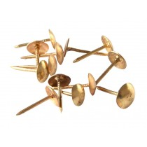 Set of 12 Metal Push Pins/Sharp And Durable Pushpins Thumbtacks, Golden