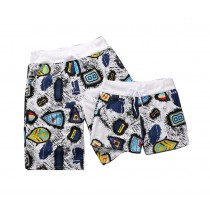 Set Of Two Youth Loose Pajamas Pants/Athletics Shorts