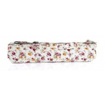 Cotton Canvas Beautiful Yoga Mat Bag,Bright Flowers