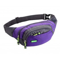 Lovely Beautiful Sports Waist Packs Fashionable Pocket Mini Backpack, Purple