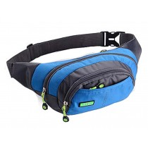 Creative Fashionable Sports Waist Packs Multifunctional Pocket Backpack (Blue)