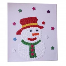 Colorful Puzzle/Parent-child Entertainment/Classic Hand Painted/Snowman