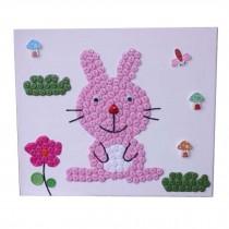 Rabbit Pattern Style Hand Painted/Puzzle/Parent-child Entertainment