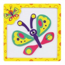 Beautiful Colorful Butterfly Puzzle Educational Toys Drawing Board Puzzles