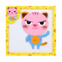 Lovely Interesting Magnetic Jigsaw Puzzles Drawing Board Puzzle Educational Toys