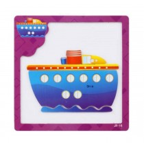 Creative Interesting Magnetic Puzzle Kids' Educational Toys Puzzles (Big Ship)
