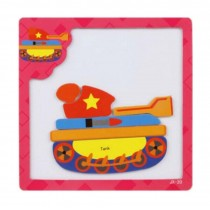 High-class Mini Creative Kids Children Educational Puzzle Toys Magnetic Puzzles