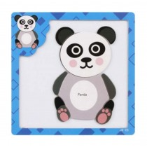 Lovely Panda Style Kids Children Jigsaw Puzzles Educational Toys Magnetic Puzzle
