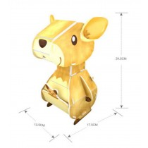 Cute Donkey 3D Jigsaw Puzzle For Children Toys Stereo Jigsaw Puzzle