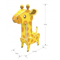 Lovly 3D Dear Jigsaw Puzzle Children Animal Assembling Toys Jigsaw Puzzle