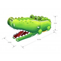 Cute 3D Jigsaw Puzzle Stereo Realistic Jigsaw Puzzles Green alligator