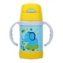 Portable Travel Mug Cute Design Vacuum Insulated Bottle 280 ML