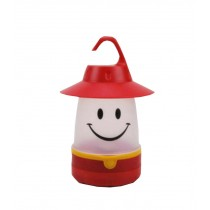 Smile Mini Desk Baby Night Light Home Nursery Lamp Red