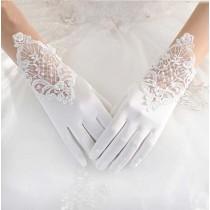 Elegant White Women Wedding/Party Gloves Bridal Gloves