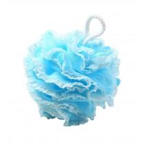 Shower Ball Blue Lace Design Bath Sponge