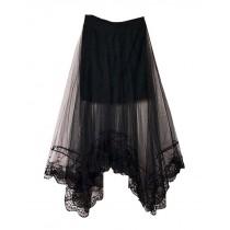 Fashion Women Summer Lace Skirt Beach Skirt One Size