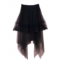 Breathable Summer Women Skirt Beach Skirt Lace