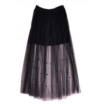 Summer Easy Match Skirt for Women Beach Lace Skirt