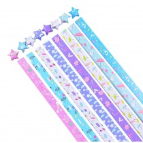 Origami Paper Lucky Star Paper - Pack of 370 Sheets