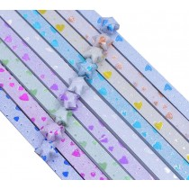 160 Sheets Bling Shiny Lucky Wish Star Folding Paper